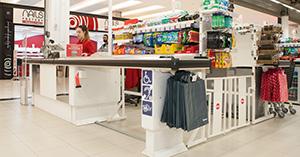 Nuevas cajas de Auchan Retail España