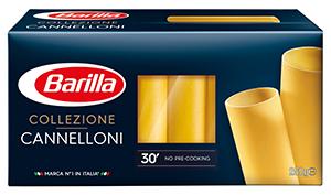 Canelloni de Barilla