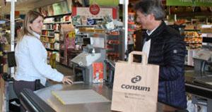Bolsa de papel de Consum