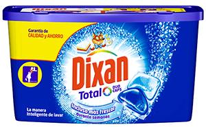 Nueva fórmula de Dixan Total