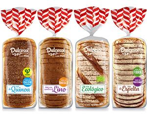 Nuevos panes de molde de Dulcesol