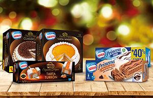 Nueva gama de tartas de helados