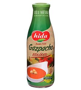 Nuevo gazpacho ecológico de Hida