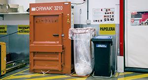 Gestion de residuos en tienda