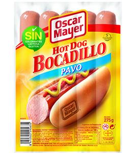Nuevas Hot Dog Bocadillo de Pavo