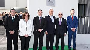 Acto de inauguración del nuevo centro logístico
