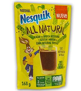Nuevo Nesquik All Natural