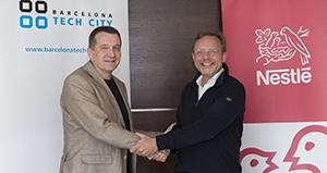 Acuerdo entre Nestlé y Barcelona Tech City