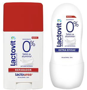 Nuevos desodorantes Lactovit 0%
