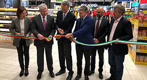Inauguración del hipermercado de Coín