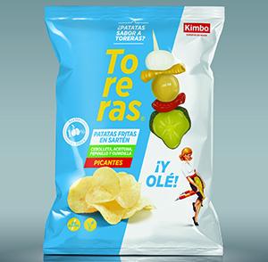 Nuevas patatas sabor Toreras
