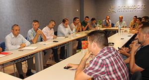 Reunión productores espinacas y Proexport