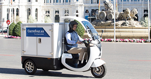 Nuevo vehículo de reparto de Carrefour