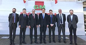 Visita de los representantes chinos a GM Food