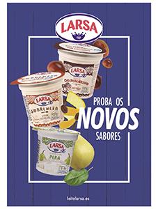 Nuevos yogures Larsa
