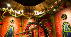 Casa de la Navidad de Coca-Cola