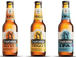 Nuevas cervezas de Cruzcampo