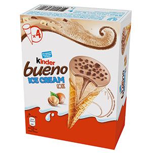 Nuevos helados Kinder