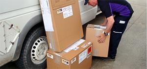 Entega de paquetes